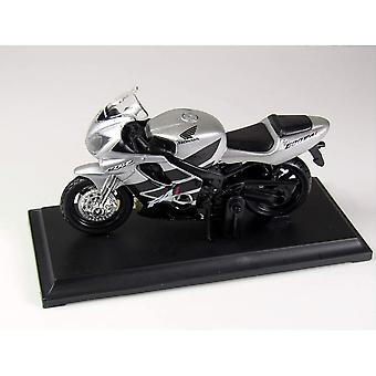 Maisto Special Edition Moottoripyörä 1:18 Honda CBR600F41 Hopea