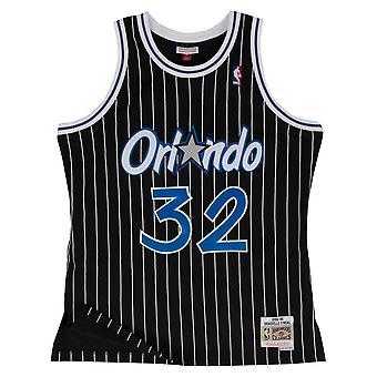 Mitchell & Ness Mitchell Ness Shaquille Oneal 199495 Nba Hardwood Classics Swingman Orlando Magic 353JFGYA4O basketball summer men t-shirt