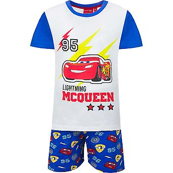 Disney cars boys pyjama set mcqueen short sleeve