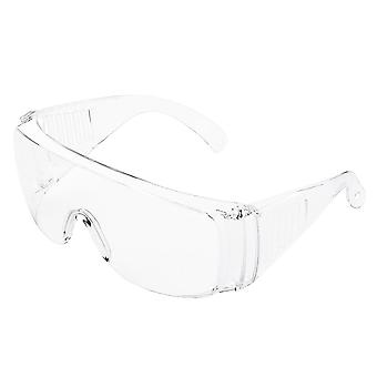 Safety goggles glasses transparent