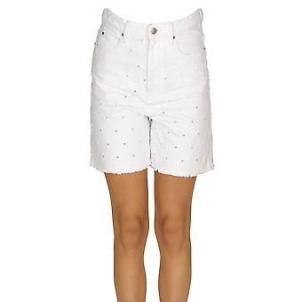 Isabel Marant Ezgl287025 Women's White Cotton Shorts
