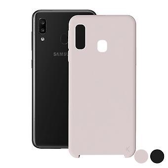 Pokrowiec na telefon Samsung Galaxy A30 KSIX Soft