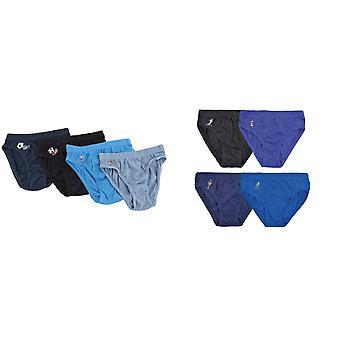 Lasten/lapset pojat 100 % puuvilla alushousut jalkapallo kuvio alusvaatteet (kpl pakkaus 4)