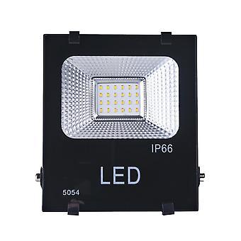 Jandei LED Projektör 20W Soğuk Beyaz Işık 6000K Siyah Dış