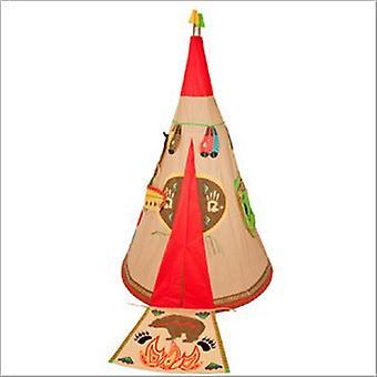 Traditionella Garden Games Childrens Wigwam Spela tält inomhus eller utomhus