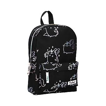 Children's Pusheenicorn Super Kitty Black Backpack