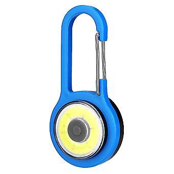 Lampe Decarabiner pour la sécurité d'éclairage de sac à dos. Bleu