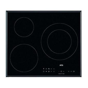 Induction Hot Plate Aeg IKB63302FB 60 cm Black (3 Cooking areas)