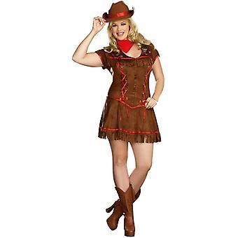 Western Girl Adult Costume
