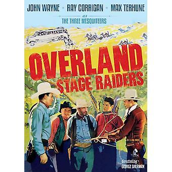 Overland Stage Raiders (1938) [DVD] USA import