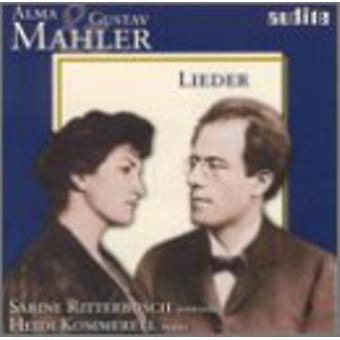 A. マーラー - アルマ ・ マーラー: 歌曲集 [CD] 米国のインポートします。