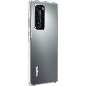 Huawei P40 Pro selkeä kotelo alkuperäinen - läpinäkyvä