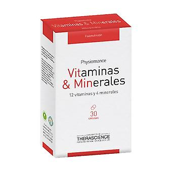Vitamins and minerals 30 capsules
