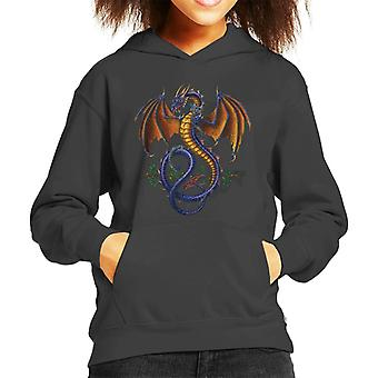 Alchemy Wyverex Cipher Kid's Hooded Sweatshirt