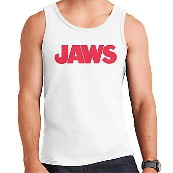 Jaws Text Logo Men's Vest