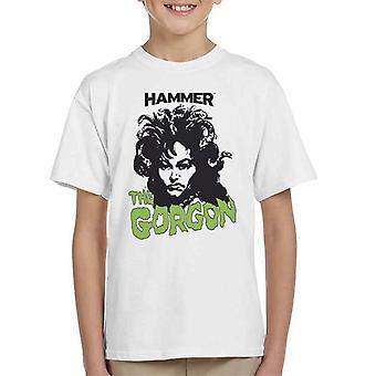 Hammer The Gorgon 1964 Poster Kid's T-Shirt