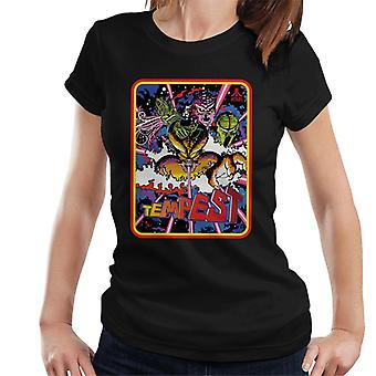 Atari Tempest 1981 arcade spel vrouwen T-shirt