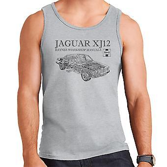 Haynes propietarios taller 0242 Manual Jaguar XJ12 negro chaleco de los hombres