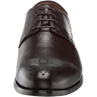 Marc Joseph New York Men's Shoes Mac006-B Leather Lace Up Dress Oxfords