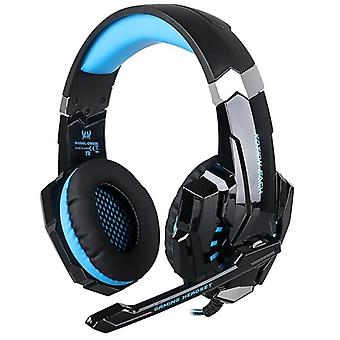 Kotion EACH G9000 Gaming Headset with LED, blue