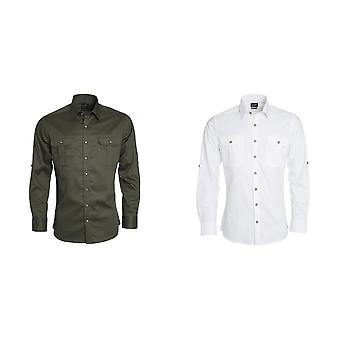 Джеймс и Николсон Mens традиционных обычная рубашка