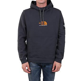 The North Face Nf0a3xy30c5 Men's Grey Cotton Sweatshirt