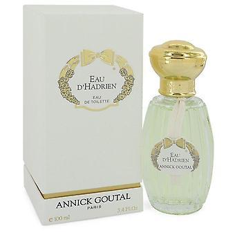 Eau d'apos;hadrien eau de parfum spray rechargeable par annick goutal 100 ml