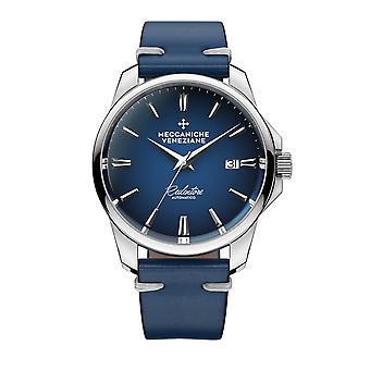 Meccaniche Veneziane 1301006 Redentore Automatic Blue Dial Wristwatch