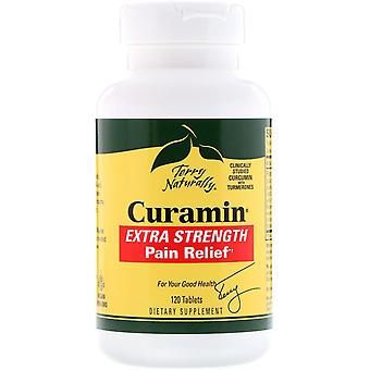 Terry Naturally, Curamin, Extra Strength Pain Relief, 120 Tablets