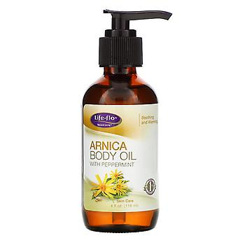 Life-flo, Arnica Body Oil with Peppermint, 4 fl oz (118 ml)