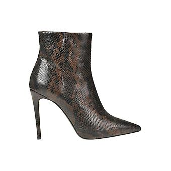 Giampaolo Viozzi Ezgl173006 Women's Brown Leather Ankle Boots