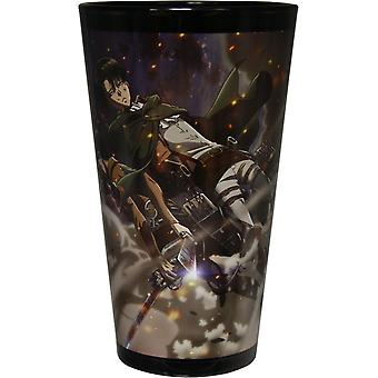 Pint Glass - Attack On Titan - 16oz Cup gls-aot-wind
