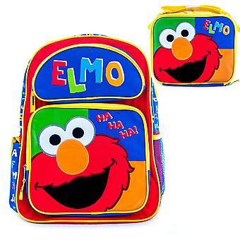 Elmo lunchbox en rugzak