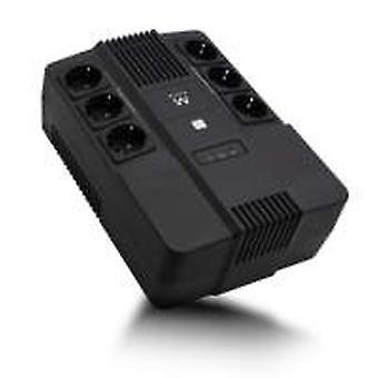 Ewent EW3945 UPS 600 VA 1 AC-uitgang(nl) Line-Interactive