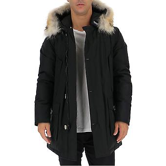 Woolrich Wocps1674cn01nbl Men's Musta Nailon Down Jacket