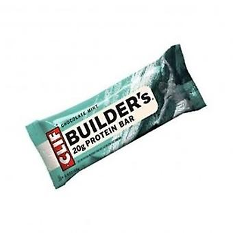 Clif Bar - Builders Chocolate Mint Bar 68g (12 pack)