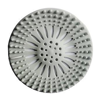 Okrągła pokrywa maty odwadniającej- wtykowywanie filtra wody Odpływ prysznicowy, sitko zlewu