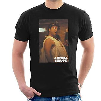 Animal House John Bluto Blutarsky Dressed In Toga Men's T-Shirt