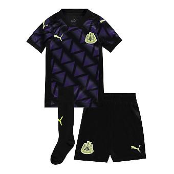 Puma Boys Newcastle United Tercer Mini Kit 2020/21 Calcetines Cortos Jersey de Fútbol