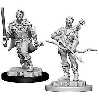 D&D Nolzur's Marvelous Unpainted Miniatures Male Human Ranger (Pack Of 6)