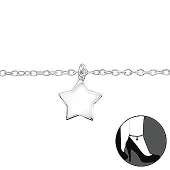 Star - 925 Sterling Silver Anklets - W31576x