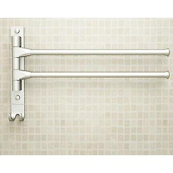 4/3/2 European Space Aluminium Towel Rack Arms, Towel Hanging With Hooks