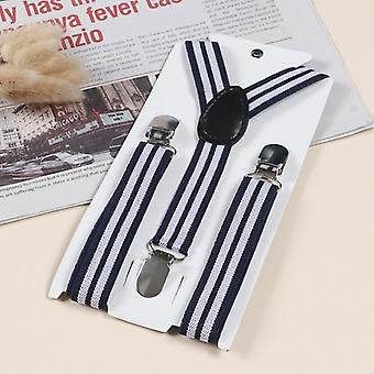 Boys/ Adjustable Striped Suspenders - Wedding Party Accessories