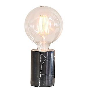 Endon-valaistus Otto - Pöytävalaisin Musta Marmori 1 valo IP20 - E27
