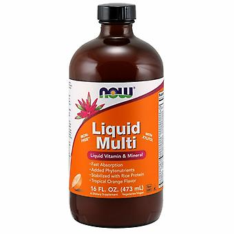 Now Foods Liquid Multi, 16 OZ