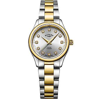 Ladies Watch Rotary LB05093/44/D, Quartz, 28mm, 5ATM