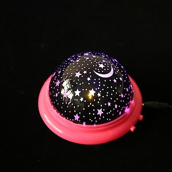 Led-Projektor Star Moon Night Light Sky, rotierende operierte Lampe