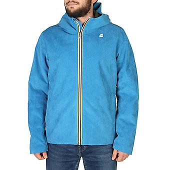 K-way - k008i70 - men's zip fastening jacket