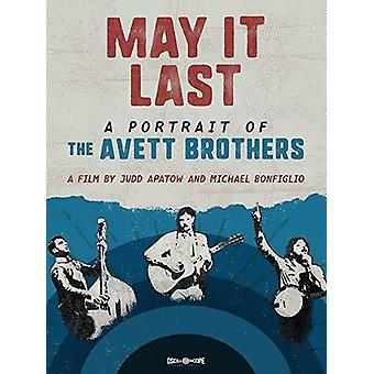 May It Last: Portrait Of The Avett Brothers [DVD] USA import