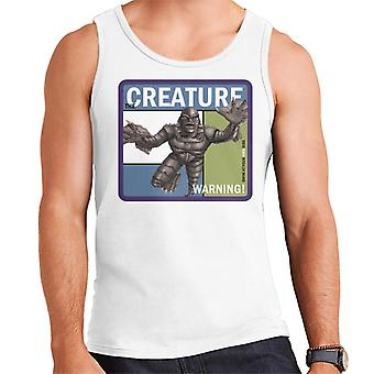 The Creature From The Black Lagoon Warning Men's Vest